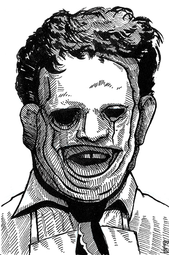 Image of Texas Chainsaws Leatherface.